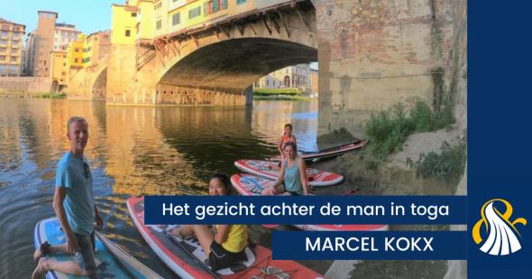 Het gezicht achter de man in toga   Marcel Kokx
