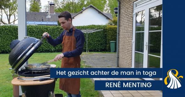 Het gezicht achter de man in toga | René Menting